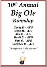 Big Ole Roundup - 2014