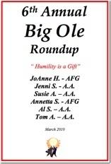 Big Ole Roundup - 2010
