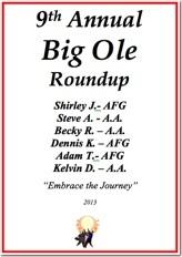 Big Ole Roundup - 2013