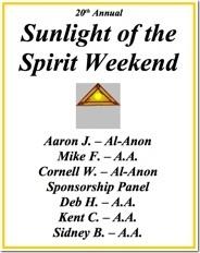 Sunlight of the Spirit - 2014