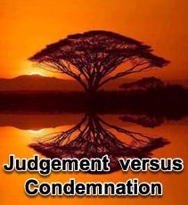 Judgement vs Condemnation - 3/16/16