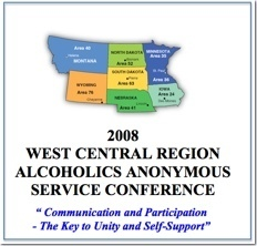 West Central Regional AA Service Conference - 2008