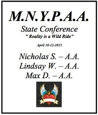 M.N.Y.P.A.A. State Conference - Minnesota 2015