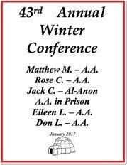 Winnipeg Winter Conference - 2017