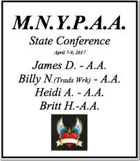 M.N.Y.P.A.A. State Conference - Minnesota 2017