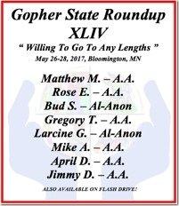 Matthew M. - AA - Gopher State 44 - 2017 - Single CD