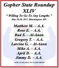 Mike A. - AA - Gopher State 44 - 2017 - Single CD