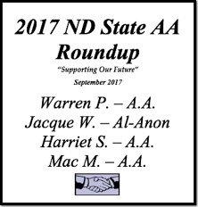 North Dakota State AA Roundup - 2017