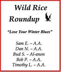 16th Annual Wild Rice Roundup