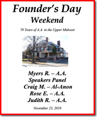 Founders Day Weekend - 2018