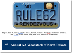 5th Annual Rule 62 - AA Woodstock