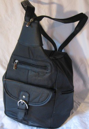 Leather Back Pack Priced Each