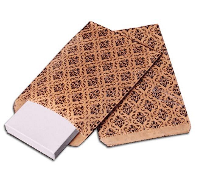 """Gift BAgs with Damask Design, 8 1/2""""x 11"""", Priced per 100 Pk"""