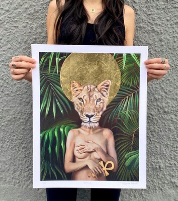 Sekhmet - Limited Edition Print
