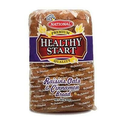 National Healthy Start Rasin, Oats and cinnamon Bread