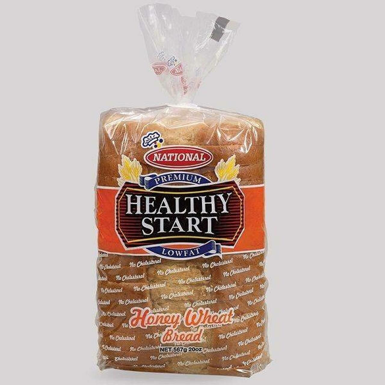 National Healthy Start Honey Wheat Bread