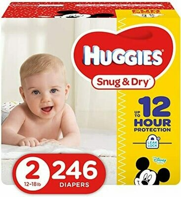 Huggies Pampers 246 Pieces #2