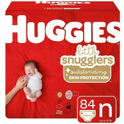 Huggies Pampers 84 Pieces (newborn)