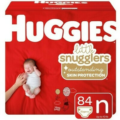 Huggies Pampers 84 Pieces (newborn)