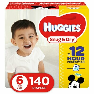 Huggies Pampers 140 Pieces #6