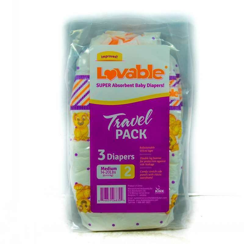 Lovable Pampers Travel pack 3 pieces #2