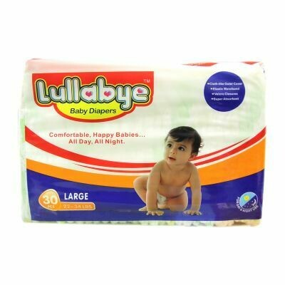 Lullabye Baby Pampers 30 Pieces (large)