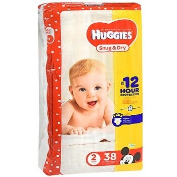 Huggies Pampers 38 Pieces #2