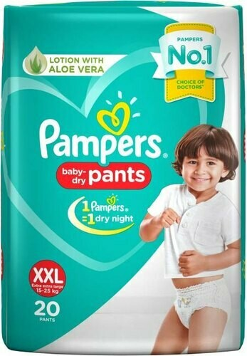 Pampers Baby Pant 20 Pieces (XXL)