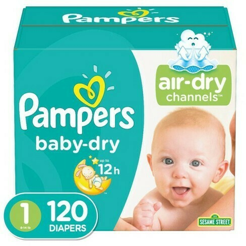 Pampers 120 Pieces #1