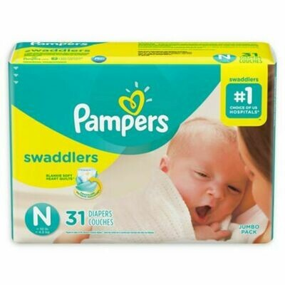 Pampers 31 Pieces (newborn)