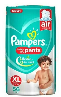 Pampers Baby Pants 56 Pieces (XL)