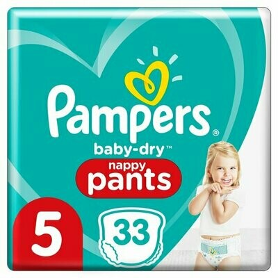 Pampers Nappy Pants 33 Pieces #5