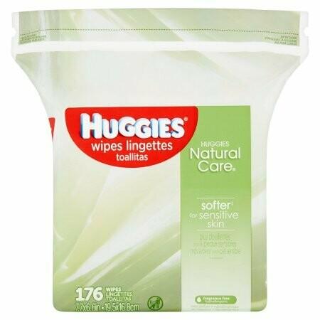 Huggies Baby Wipes 176 Pieces