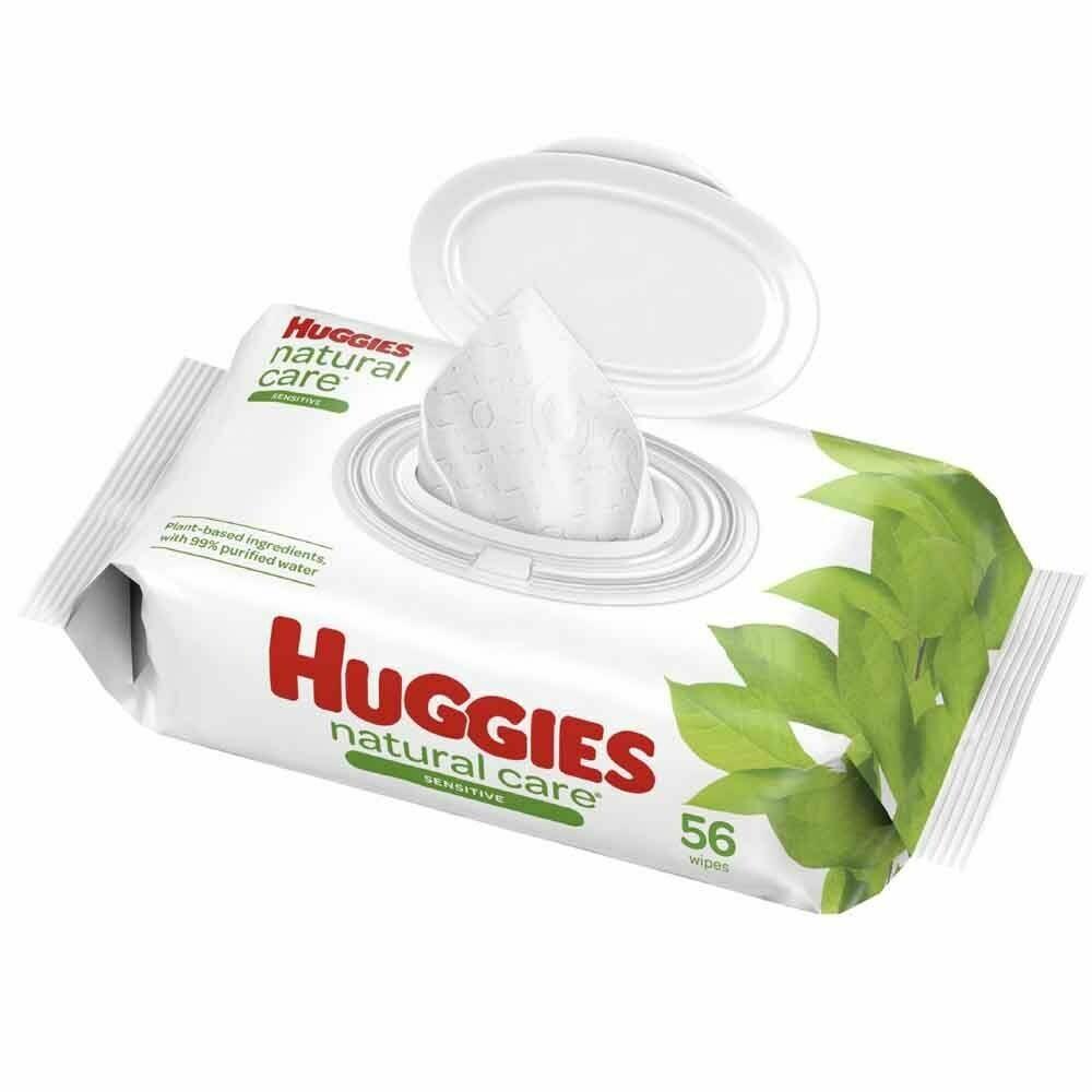 Huggies Baby Wipes 56 Pieces