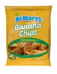 st mary banana chips original