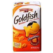 gold fish (cheddar)