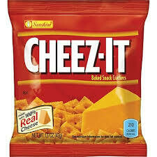 cheez-it cracker (real cheese)