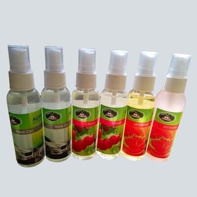 Automotive Household Fragrances Air Freshener Liquid Spray