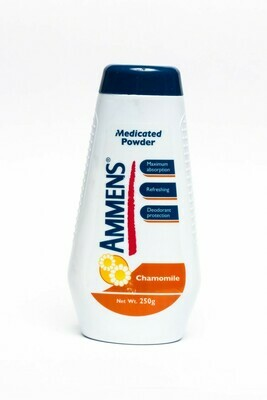 Ammens medicated chamomile baby powder