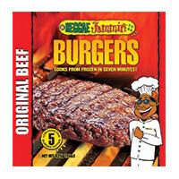 Reggae Jammin Original Beef Burgers