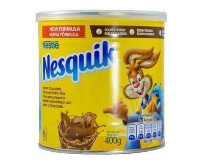 Nesquik chocolate flavor milk powder 400g