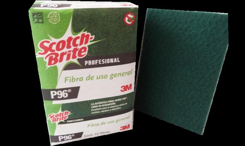 Scotch Brite Fibra Verde 12 pack