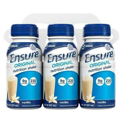 Ensure Vanilla Nutrition Shake
