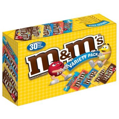 M&M Variety Pack 30 Count