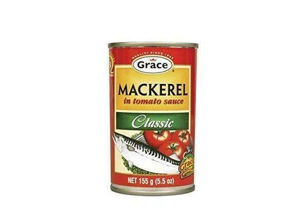 Grace Mackerel in Tomato Sauce 10pk x55g