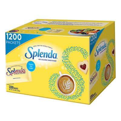 Splenda No Calorie Sweetener 1200 Count
