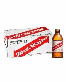 Red Stripe Beer Case 24x341ml