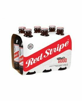 Red Stripe 6 pack