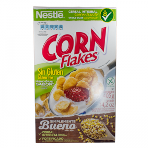 Nestlé CORN FLAKES Gluten Free Cereal 405g Box 300x300