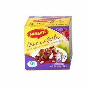 MAGGI Garlic Onion Flavored Seasoning Cubes 4g Box of 25
